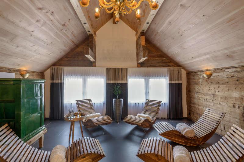 Sauna und Wellness im Appenzell - Boutique Hotel Bären Gonten - Ruheraum