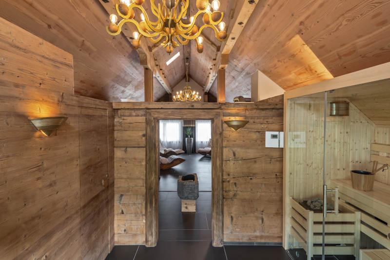 Sauna und Wellness im Appenzell - Boutique Hotel Bären Gonten - Spa