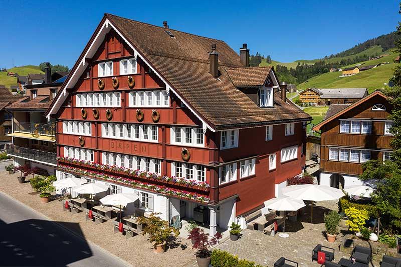 Sauna und Wellness im Appenzell - Boutique Hotel Bären Gonten