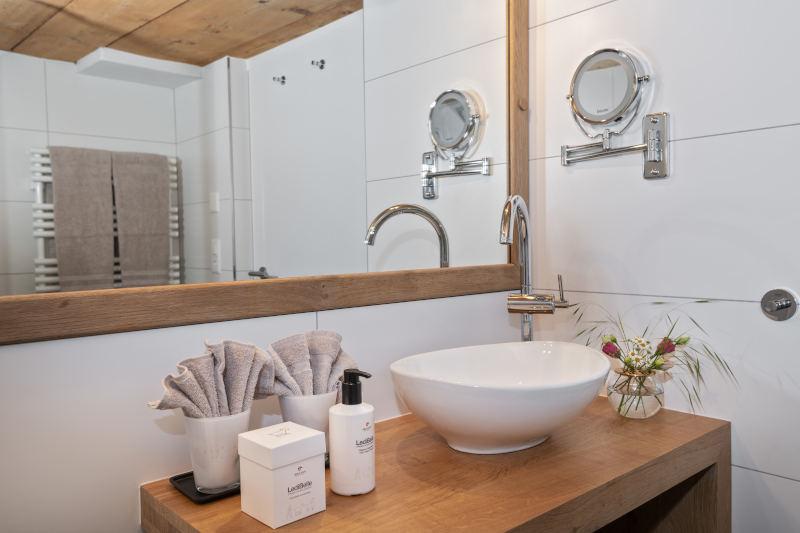 Sauna und Wellness im Appenzell - Boutique Hotel Bären Gonten - Doppelzimmer originell, Bad