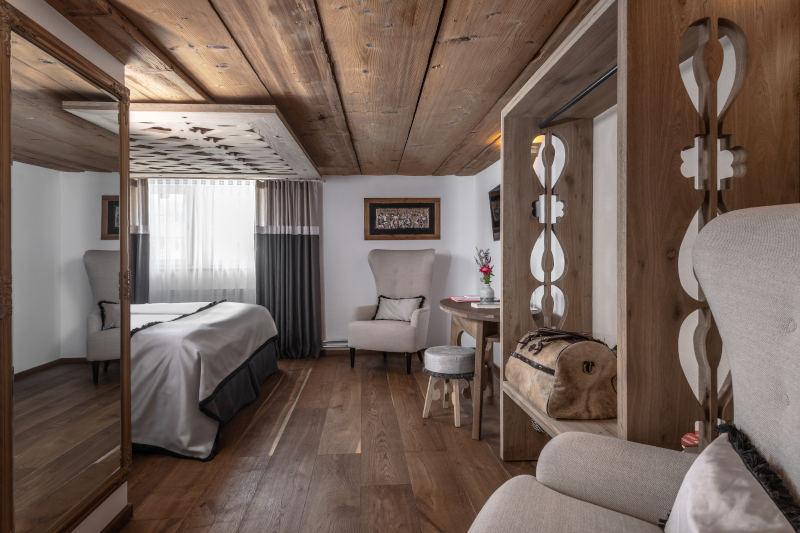 Sauna und Wellness im Appenzell - Boutique Hotel Bären Gonten - Doppelzimmer originell